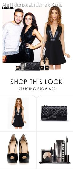 """""""At a Photo-Shoot with Liam and Sophia"""" by elise-22 ❤ liked on Polyvore featuring Chanel, Giuseppe Zanotti and LORAC"""