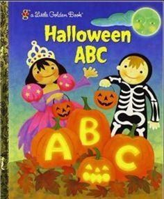 Halloween ABC - Little Golden Book