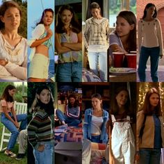 Joey Potter Every Outfit From Season 1 1980s Fashion Trends, Fashion Tv, Joey Dawson's Creek, Dawson Creek, Character Outfits, Movie Outfits, Cute Outfits, Joey Potter, 90s Inspired Outfits