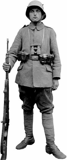 German WWI Army Uniform, later in the war.