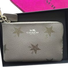 e32302a4d Coach Star Canyon Wallet Grey Wristlet in Gray Bag Accessories, Zip Around  Wallet, Star