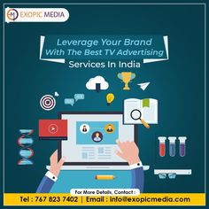 Technology and trends may evolve and become more powerful. But TV Advertising is here to stay! Rediscover Your brand potential with the top TV Advertising agency in India - Exopic Media. Call us: 7678237402 Email: info@exopicmedia.com #branding #brand #TVAdvertising #ExopicMedia #tvads #tvcommercials #brandreach #technology #trends #powerful #rediscover #brandpotential #tvadvertisingagency #advertising #marketing #advertisingagency #televisionads #televisionadvertising #tvadvertisement