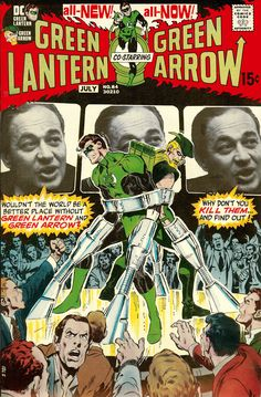 Green Lantern Vol 2 #84 (1971). Cover art: The superb Neal Adams