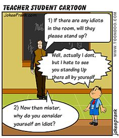Teacher Student Joke   Student Life Is Nothing But Fun   FUnny ...