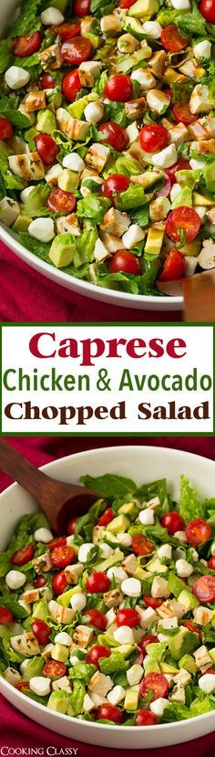 Caprese Chicken and