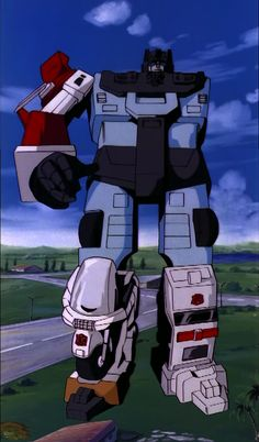 """Transformers G1 Defensor (from """"The Ultimate Weapon"""")"""
