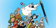 Cubitus a cinquante ans ! Ce matin sur les réseaux sociaux, nous lancions un sondage sur votre toute première bande dessinée, et plusieurs lecteurs nous ont parlé de Cubitus. Néen1968 dans le ... Snoopy, Album, Fictional Characters, First Page, 50 Years Old, Comic Books, Social Media, Beginning Sounds, Fantasy Characters