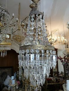Ada and Darcy: Chandelier