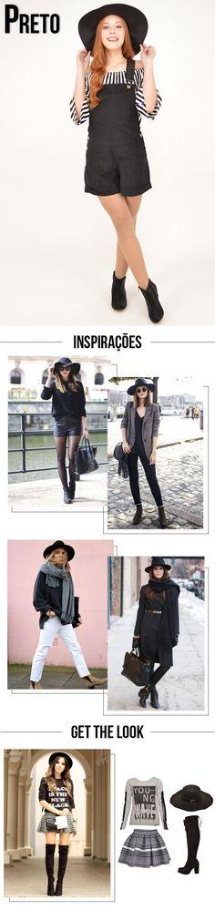 Como usar chapéu em looks de Inverno! | Get the Look: chapéu preto. #moda #dicas #styling #tendência #estilo #comousar #chapéu #inverno #frio #getthelook #looknowlook
