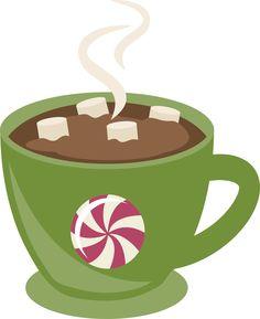hot chocolate clip art free holiday hot cocoa illustration on rh pinterest com hot chocolate clipart black and white hot chocolate clipart images
