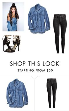 """""""Bez naslova #1"""" by hocna ❤ liked on Polyvore featuring Gap, H&M and Stuart Weitzman"""