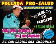 En beneficio de Lucho Cueto. Febrero 13, 2017. Lima, Peru, San Carlos, February, Health, Musica, Turkey, Limes