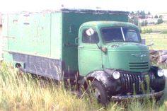 vintage Chevrolet cab over engine COE truck