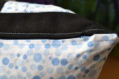 Min Rägeboge: Kissen mit Anleitung verdeckter Reissverschluss (Variante 1)