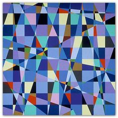 Geoform is an online scholarly resource, international forum, and curatorial project that focuses on the use of geometric form and structure in contemporary abstract art. Contemporary Abstract Art, Inspirational Artwork, Colorful Artwork, Color Studies, Small Quilts, Art Pages, Quilt Making, New Art, Fiber Art