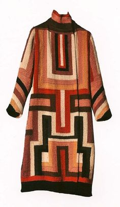 A coat made for the iconic Gloria Swanson made by Sonia Delaunay in 1923.