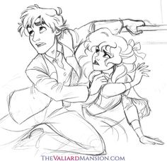 thevaliardmansion:  Another scene from Chapter 7 ofValiard. It's a chapter I've really neglected in terms of illustrations, and it's actually a lot of people's favourite chapter, so I really wanna catch up on that. :D Better than sitting with my writer's block staring down Chapter 9, AMIRITE. :B