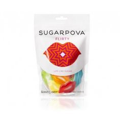 Maria Sharapova has a sweet tooth...and a line of candy! Too sweet!