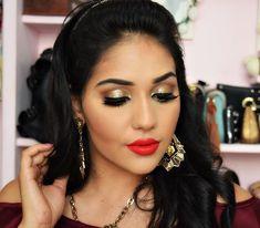 Diário da Moda: Tutorial de Maquiagem para o fim do ano + makeup glitter + brillhant gold Mac + makeup gold + maquiagem com glitter dourado