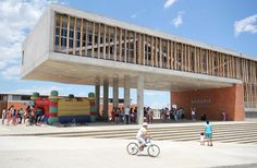 Institucion Educativa La Samaria,Cortesía de Campuzano Arquitectos