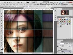 EXCLUSIVE - Awesome Effect, Marquee Tool, Color Balance - Photoshop CS5 Tutorial - YouTube