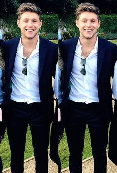 I will never make separate boards for the boys because for us they are always One Niall Horan Baby, Naill Horan, Niall Horan 2017, Niall Horan Braces, Irish Boys, Irish Men, Liam Payne, Harry Styles, James Horan