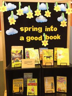 Library Displays: Spring into a Good Book