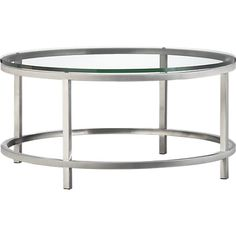 Era Round Coffee Table   Crate And Barrel