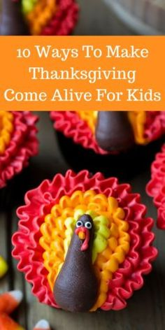 10 Ways To Make Thanksgiving Come Alive For Kids! AD