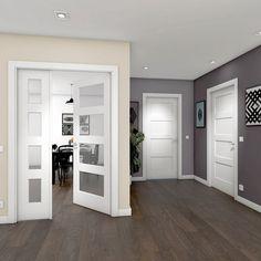 Indoor Gates, Door Design, House Design, Utility Room Designs, Attic Doors, Modern Door, Internal Doors, Living Room Bedroom, Windows And Doors