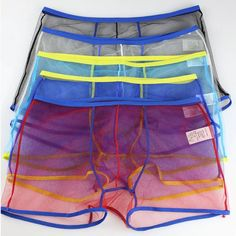 Men/'s Leather Underwear Boxer Brief Sissy Lace Ardennes Pouch Slip Bandage Pantalon