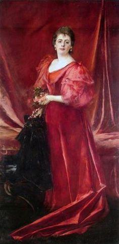 Capacidad crítica. El retrato de la hermana del artista, María de la Cárcova de Ferrari, de 1894, es resultado de su formación en Italia