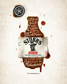 Habanero, Stubb's BBQ Sauce, Proof Advertising, Stubb's, Print, Outdoor, Ads #print  #inspiration #poster #campaign #werbung #advertisement #brand