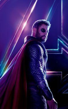 Thor In Avengers: Infinity War Marvel Man, Marvel Avengers Movies, Marvel Films, Man Thing Marvel, Marvel Heroes, Marvel Cinematic, Marvel Movie Posters, Avengers Poster, Wallpaper Thor