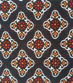 Anti-Pill Fleece Fabric - Spice Diamonds