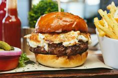 What are you getting: The Moroccan Spiced Lamb Burger