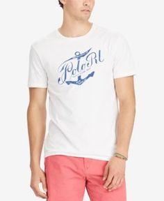 Polo Ralph Lauren Men's Big & Tall Classic-Fit T-Shirt - White 4XB