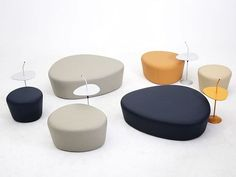 LOTUS Пуф By Grado Design Furnitures дизайн Grado R