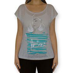 Camiseta fullprint Safira de @malenaflores | Colab55