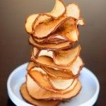Cinnamon Sugar Baked Apple Chips - Jennifer Meyering