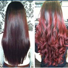 #Red#Ombre#beauty#haircolor