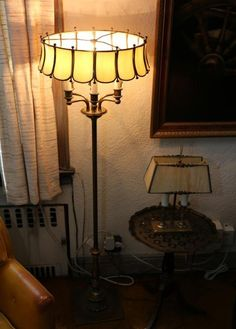 Grouping Of 7 Lamps.