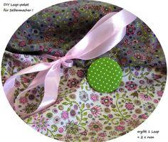 Stoffpaket♥Loop♥ DIY  Blumentraum + Button ... von ஐღKreawusel-aufgehübscht✂ஐ  auf DaWanda.com
