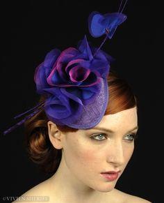 Vivien Sheriff Sombrerería - Sombreros y tocados de novia, sombreros y tocados, sombreros para las carreras, Alquiler Hat