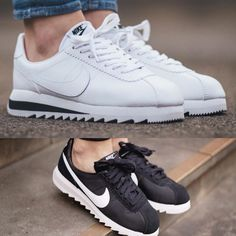 Different Types Of Sneakers – Sneaker Deals Nike Cortez Shoes, Nike Shoes, Shoes Sneakers, Shoes Heels, Sneakers Fashion, Fashion Shoes, Shoe Closet, Types Of Shoes, Swagg