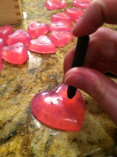 Homemade soap for valentines day!