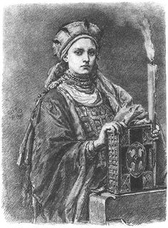 Dobrawa of Bohemia (ca. – Two independent sources attribute to Dobrawa an important role in the conversion to Christianity of Mieszko I and with him, all of Poland. Ancestor to Queen Elizabeth, according to Wikipedia. Bohemia People, Margrave, Medieval, Poland History, Mother Family, Free Family Tree, My Ancestors, European History, Dark Ages