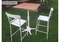 Eventos organizados por www.operallogueres.com  Mobiliario de forja de www.fustaiferro.com #eventos #bodas #terraza #hosteleria