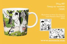 Welcome to Moominvalley - the official home of the Moomins Moomin Mugs, Tove Jansson, Desert Island, To Go, Vacation, History, Tableware, Summer, Design