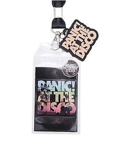 Panic! At The Disco Lanyard (Hot Topic) $8.90